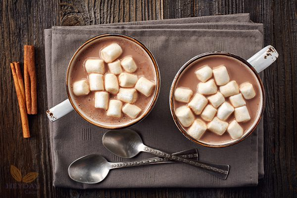 cacao marshmallow nóng