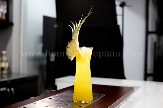 món mocktail cool fruit pineapple